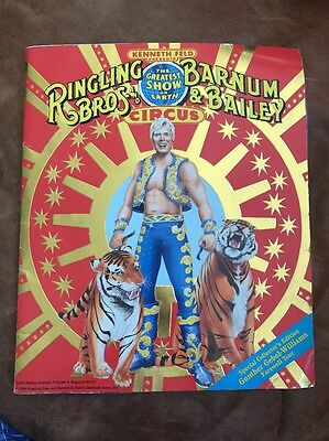 Ringling Bros & Barnum Bailey Gunther Gebel-Williams Farewell Tour Mag. & Poster