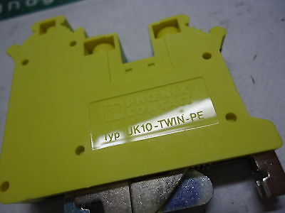 3001433, Phoenix Contact, TERM BLOCK W/DOUBLE CONNECTION, BRAND NEW!