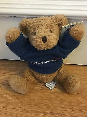 British Airways Collectibles Wilbur Bear