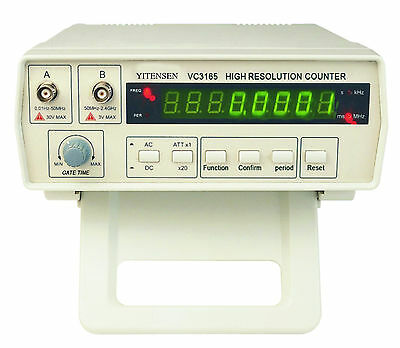 1 New YITENSEN-PAKRITE(R) High Resolution Frequency Counter w/Scope VC3165, USA