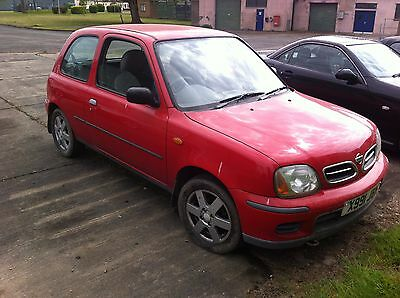Nissan Micra 1.0 Spares Repairs Project Parts Car