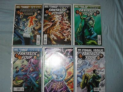 Fantastic Four 583-588 Hickman death of Human Torch