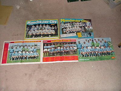 6 Manchester City Fc Team Posters