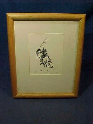 Limited Edit 5/90 WESTERN NATIVE AMERICAN PRINT By EDWARD MORRIS Pencil SIGNED