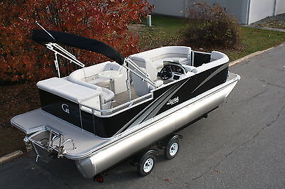 New high end 22 ft pontoon boat with 4 stroke 40 hp Mercury