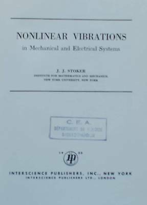 011691 - Nonlinear vibrations in mechanical and electrical systems