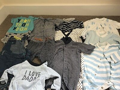Baby Boys Clothing Bundle 0/3 Months