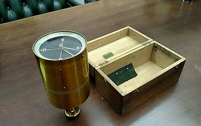 Antique brass surveyors compass