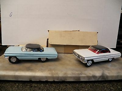 Lionel 1/32 scale Ford Galaxie slot cars lot of 2 LOOK free shipping