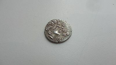 Repro Ancient Celtic Coin Trinovantes Thatcher´s Sister Silver 999 Free Shipping