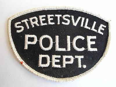 Vintage Streetsville Police Patch, Ontario, Canada, Police Crest
