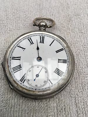 Nice Silver Pocket Watch Spears Or Repair