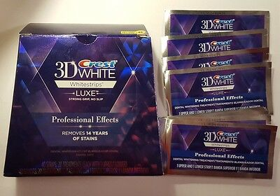 Professional Crest Effects 3D Luxe White Dentaire Bandes