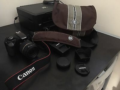 Canon DSLR body 18-200mm lens, Messenger Boy Bag, Spare filters, Lens cleaner