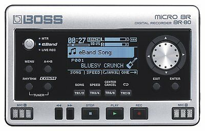 Boss BR-80 Micro Digital Recorder - Authorized Dealer