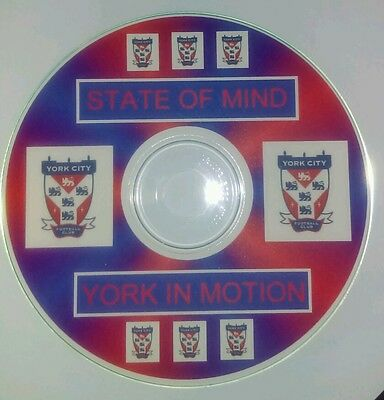 York City  Fc Football Songs State Of Mind, York In Motion  On Cd