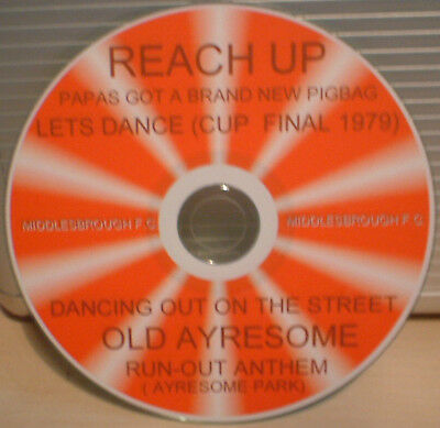Middlesbrough Fc Songs Reach Up, Lets Dance  Fa Cup 97