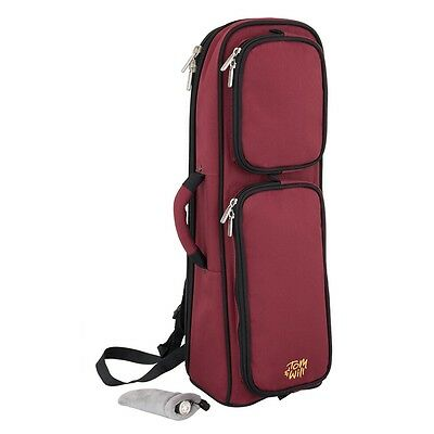 Tom and Will 26TP Padded Trumpet Bag - Burgundy