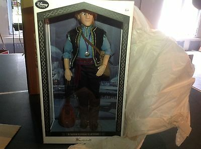 """Limited edition kristoff 17"""" Disney frozen fever doll!  1 of 3500"""