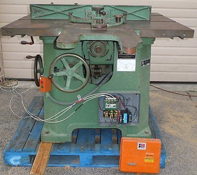 Northfield Woodworking Machinery #4RT Arbor Saw with Rolling Table Saw