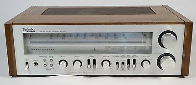 Vintage Technics By Panasonic SA-500 Model  FM/AM Stereo Receiver Tested