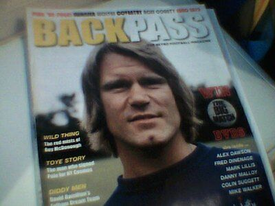 BACKPASS MAGAZINE Issue 24 New Season 2012-13  Retro Football Magazine