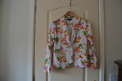 Ted Baker Jacket Girls Age 13 Gorgeous summer wedding jacket floral birds