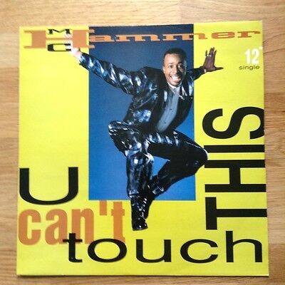 """MC Hammer - U Can't Touch This 12"""" Vinyl Dance Single .3 Versions."""