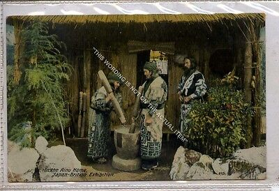 (Ga8848-477) In the Aino Home, Japan - British Exhibition c1910 G-VG