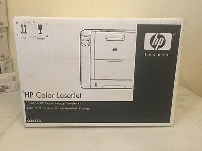 Genuine HP Image Transfer Kit - Q3658a - For 3500/3700 Series - New