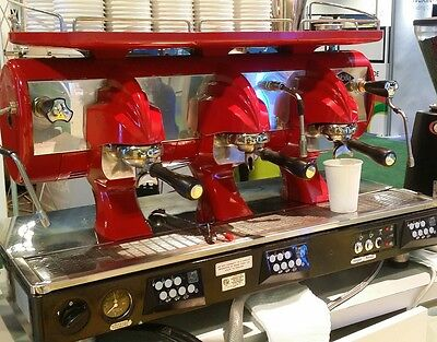 Astoria Sibilla 3 Group Commercial Espresso Machine & Fiorenzato Grinder
