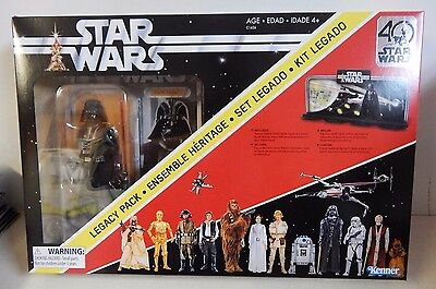 "Star Wars Black Series 6"" 40th Anniversary Darth Vader Legacy Pack MIB!!!"