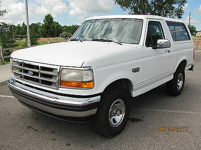 1993 Ford Bronco XLT 1993 Ford Bronco XLT 4x4, 1 owner, Calif truck, like new!!!  351, auto, loaded.