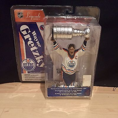 McFarlane Figure Hockey Wayne Gretzky Edmonton Oilers Cup Legends Series 4 New