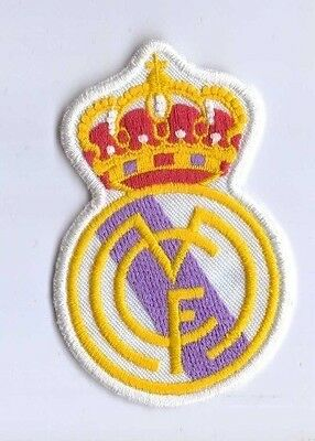 Real Madrid FC of Spain unused fabric sew-on patch, circa 1990's