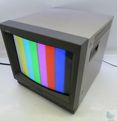 """Sony Trinitron PVM-14L1 13"""" Color Studio CRT Monitor TESTED & WORKING"""