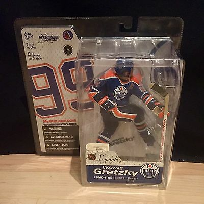 McFarlane Figure Hockey Wayne Gretzky Edmonton Oilers Legends Series 2 Sealed