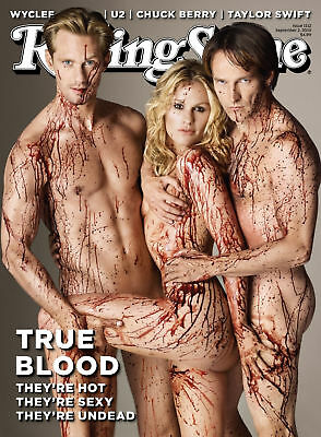True Blood Tv Series Rolling Stone Cover Poster