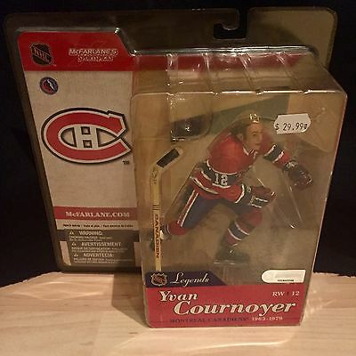 McFarlane Yvan Cournoyer Montreal Canadiens NHL Legends Series 1 Figure Sealed