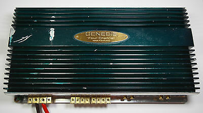 Genesis Four Channel - 4/3/2-Kanal Car-Hifi Endstufe Made in England