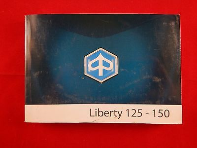 Piaggio Liberty 125-150 125 150 Owners Manual 2008 Handbook 2009