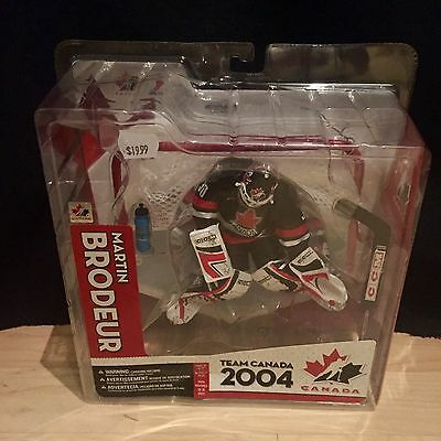 McFarlane Sportspicks Figure Martin Brodeur Team Canada Hockey NHL Sealed