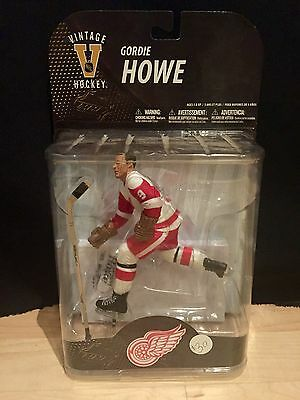 McFarlane Gordie Howe Figure NHL Hockey Detroit Red Wings Legends Series 7 New