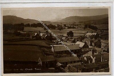 (Ga8922-477) Real Photo of Hawes from the Church Tower c1930 VG+ Walter Scott