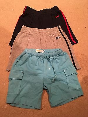 3 Pairs Boys Shorts Size 12-18months