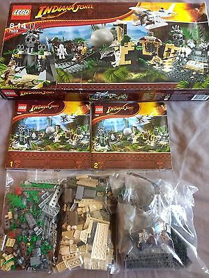 Lego Indiana Jones 7623 Temple Escape Boxed with Instructions