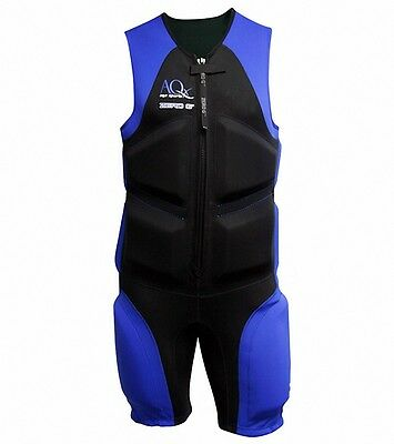 AQX Sports Zero Gravity Buoyancy Wet Suit Aquatic Resistance Training Mens M