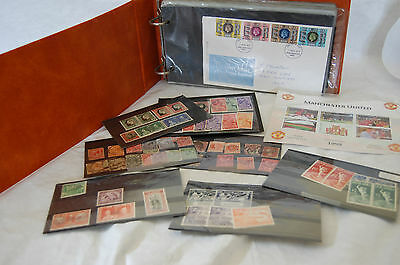 Stamp Selection Victoria plus first day cover book