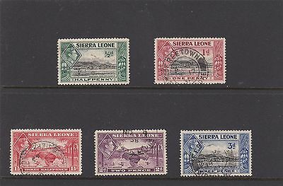 Sierra Leone Stamps / Set of 5 Values ... Used