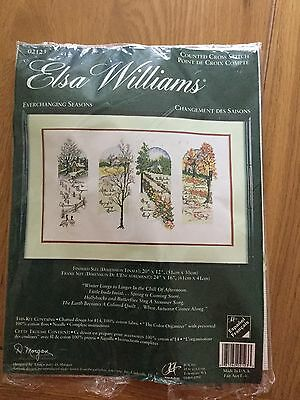 Counted Cross Stitch - Everchanging Season By Elsa Williams - Unstarted